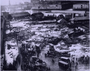 The Great Molasses Flood of 1919.