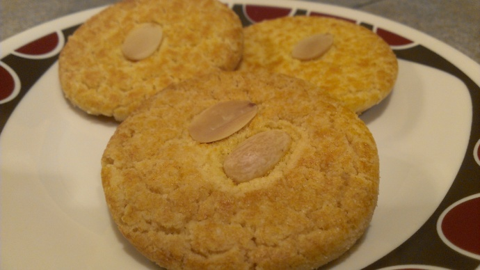Chinese Almond Cookie