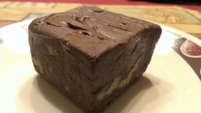 Nutty Fudge