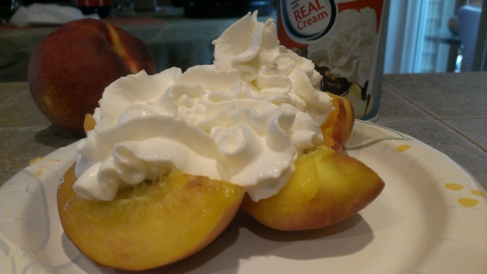 National Peaches and Cream Day