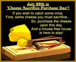 National Cheese Sacrifice Purchase Day