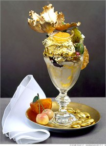 The world's most expensive sundae.