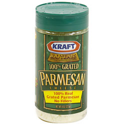 Kraft Grated Parmesan Cheese 9oz